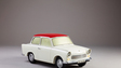 Modell eines Trabant 601. Metall, 1971.