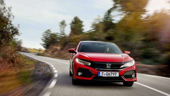 Der Honda Civic 2017.