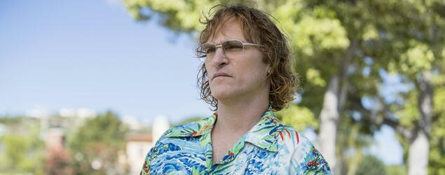 "Er kriecht in seine Rolle hinein. Joaquin Phoenix in ""Don't worry, he won't get far on Foot""."