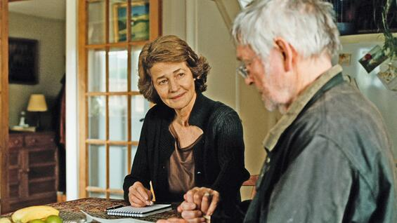 "Rampling mit Tom Courtenay in ""45 Years""."