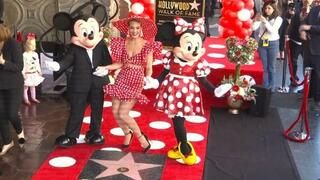 40 Jahre nach Mickey: Minnie Maus hat ihren Stern in Hollywood