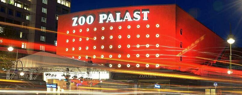 Der Zoo Palast in Berlin Charlottenburg.