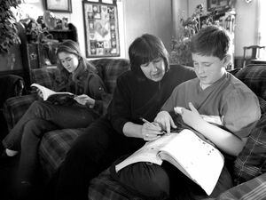 Homeschooling in den USA. Foto: dpa