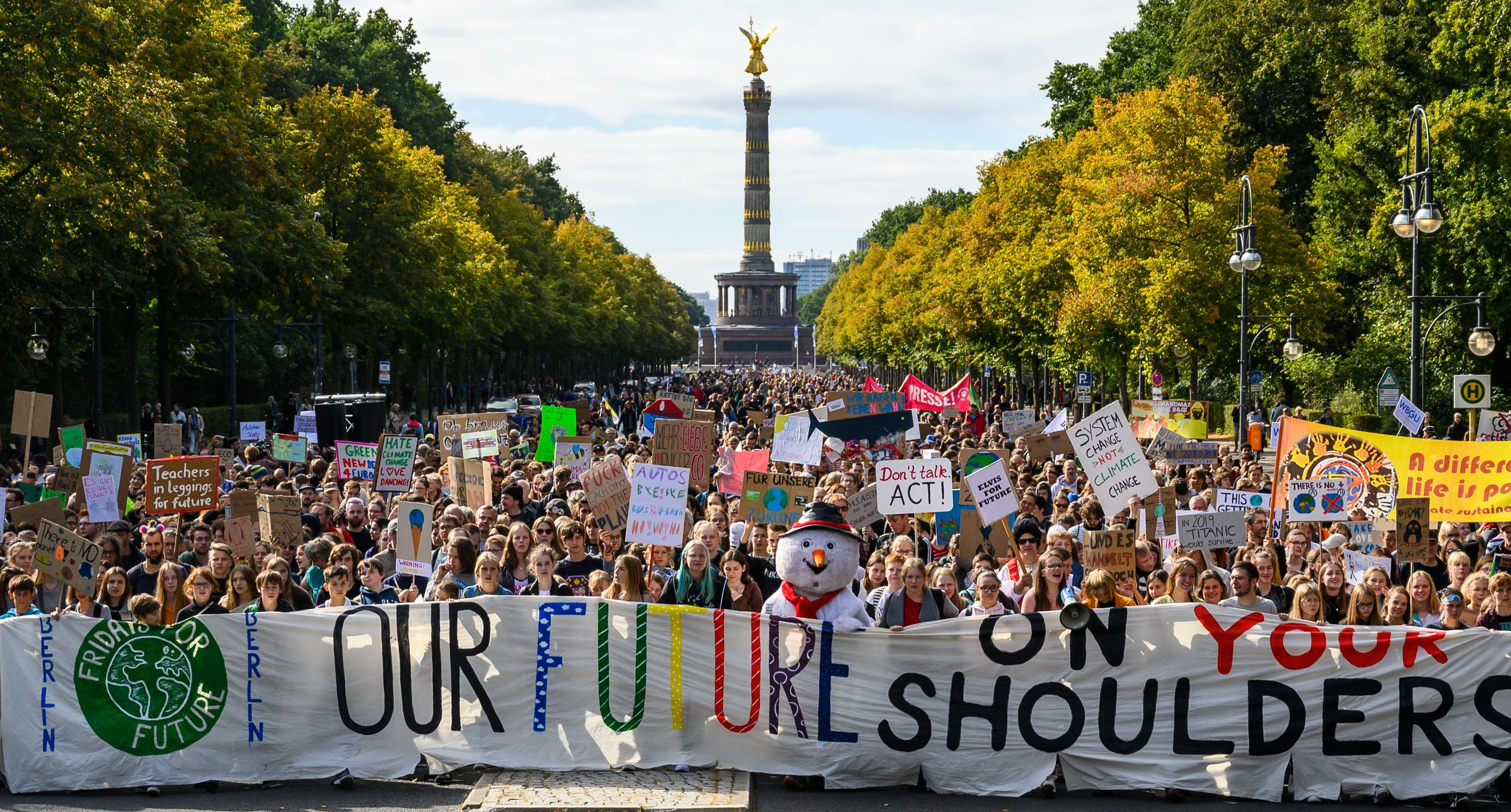 Fridays For Future demonstrieren in Paderborn