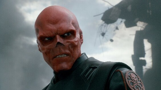 Alte Schule: Hugo Weaving als Oberschuft Red Skull.