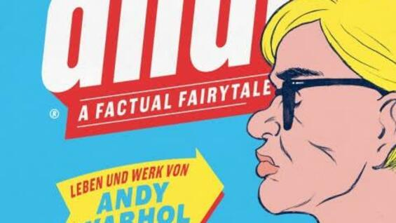 "Das Cover von ""Andy – A Factual Fairytale""."