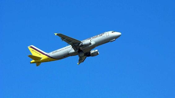 Ein A320 von Germanwings (Archivbild).