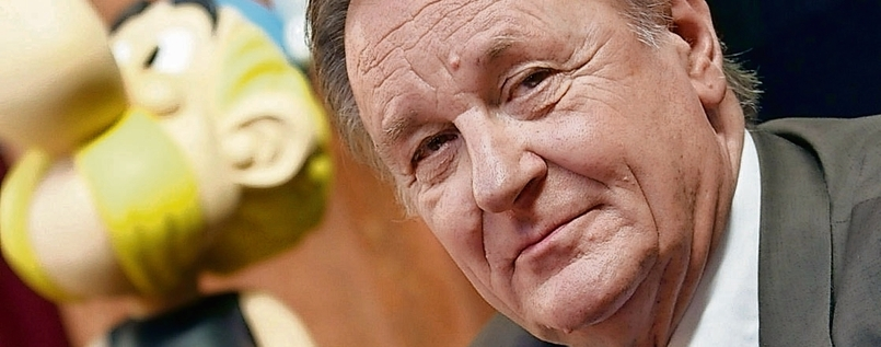 Autodidakt: Am 25. April wird Albert Uderzo 90.