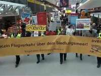 Anwohnerprotest in Tegel
