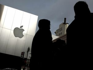 Apple - unangefochten. Foto: AFP