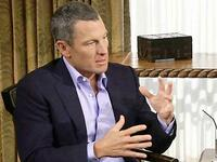 Lance Armstrong im TV-Interview mit Talk-Queen Oprah Winfrey. Foto: Reuters