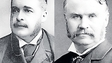 5. Arthur Sullivan (links) und William S. Gilbert.
