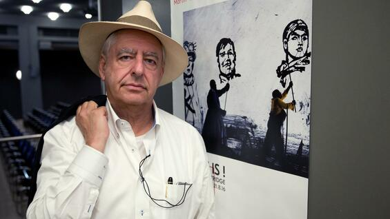 William Kentridge in der Berliner Ausstellung.