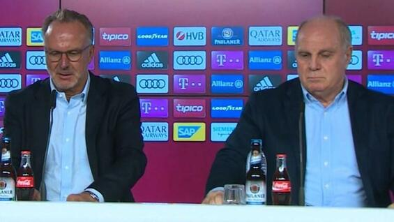 fc bayern m nchen rechnet in pressekonferenz mit medien ab. Black Bedroom Furniture Sets. Home Design Ideas