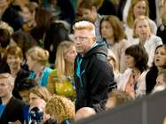 In der Box: Boris Becker.