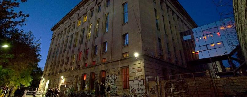 Das Berghain in Berlin.