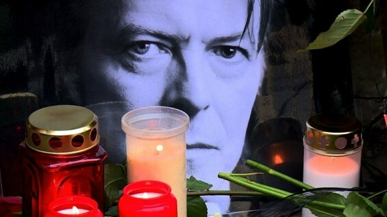 Berlin trauert um David Bowie