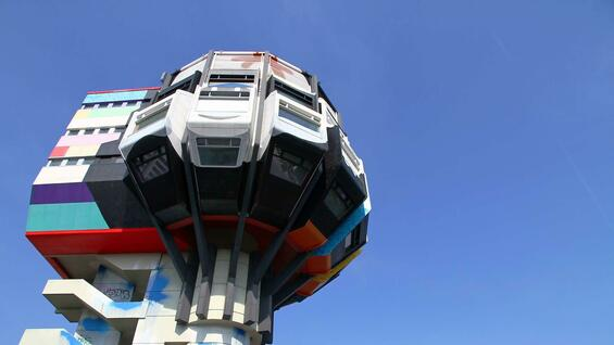 Der Bierpinsel in Berlin-Steglitz