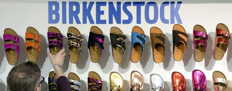 "Birkenstocks may have been on display here at the Berlin ""Bread and Butter"" fashion fair, but they're definitely not cool."