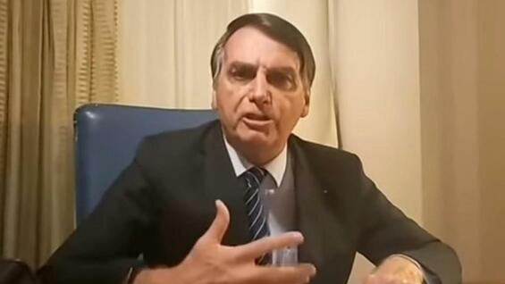 Bolsonaro flippt in Youtube-Video aus