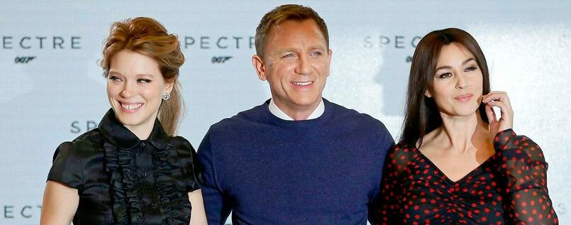 Spectre Neuer James Bond Film Mit Daniel Craig Christoph Waltz