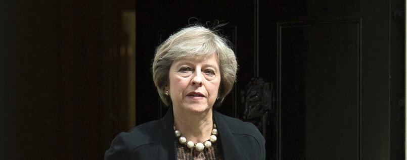 Folgt auf David Cameron in No. 10 Downing Street : Theresa May