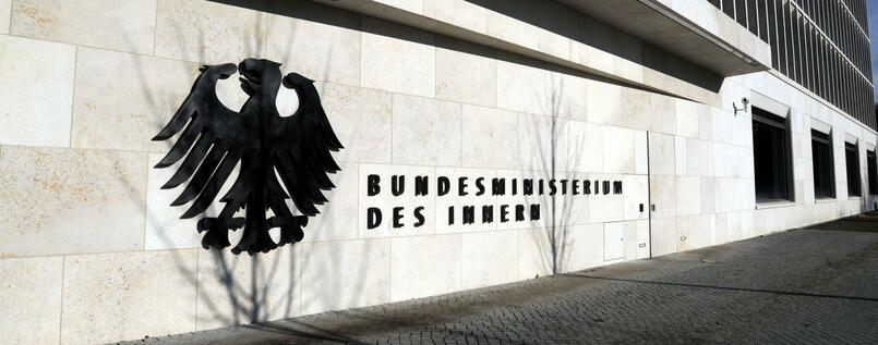 "Interesse an den ""Paradise Papers"": Das Bundesinnenministerium in Berlin"