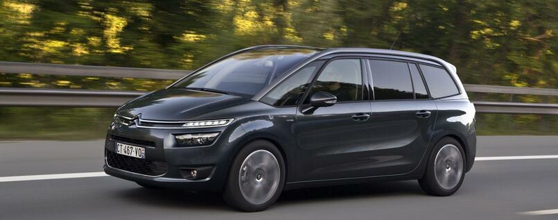 fahrbericht citroen grand c4 picasso bluehdi 150 exclusive im test ensemble en voiture. Black Bedroom Furniture Sets. Home Design Ideas
