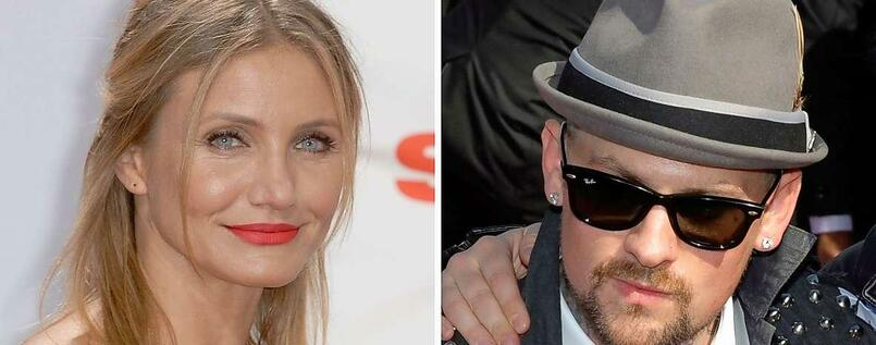 Frohes Neues: Hollywood-Star Cameron Diaz hat Good-Charlotte-Rocker Benji Madden geheiratet.