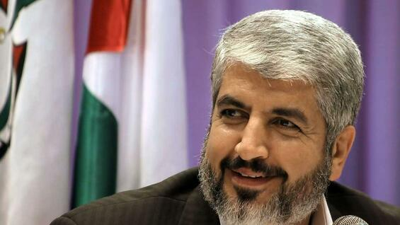 Hamas Exil-Chef Chaled Maschaal.