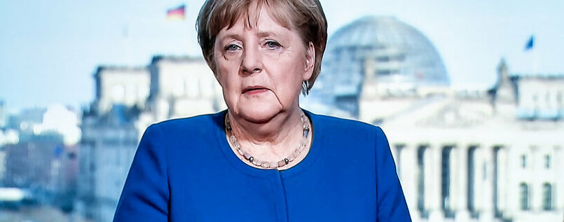 German Chancellor Angela Merkel S Appeal To The Nation