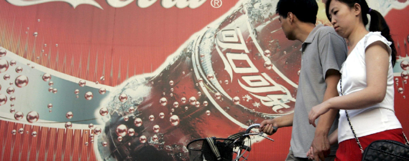 Coca-Cola kauft Safthersteller in China für 2,4 Milliarden US-Dollar