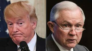 US-Präsident Donald Trump und Justizminister Jeff Sessions.