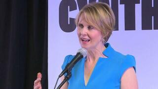 Cynthia Nixon aus 'Sex and the City' beginnt Wahlkampf