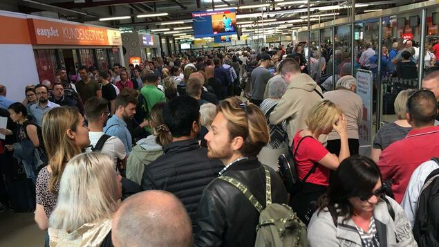 Chaos in Tegel