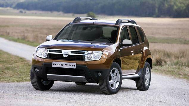 dacia duster das g nstige suv als gebrauchtwagen. Black Bedroom Furniture Sets. Home Design Ideas