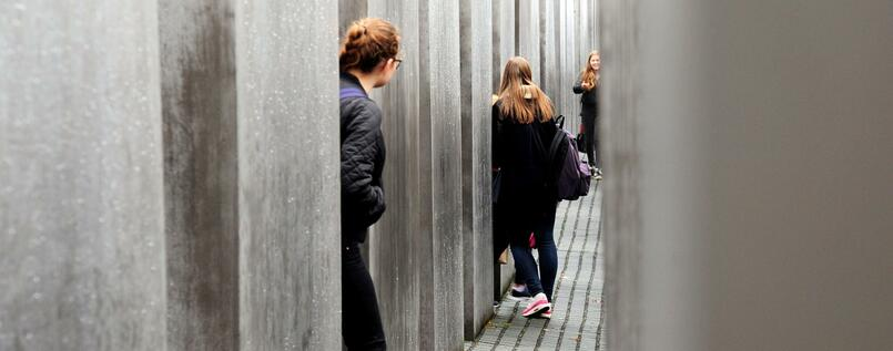 Holocaust-Mahnmal in Berlin.