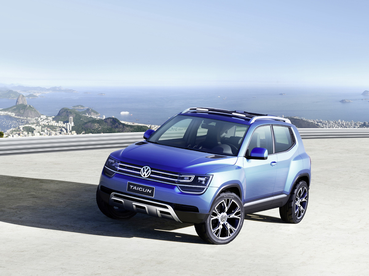 volkswagen studie eines kompakt suv kleiner tiguan hei t taigun auto tagesspiegel. Black Bedroom Furniture Sets. Home Design Ideas