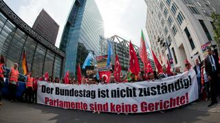 Demo gegen die Armenien-Resolution des Bundestages.