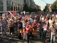 Berlin: Demonstration gegen Obama