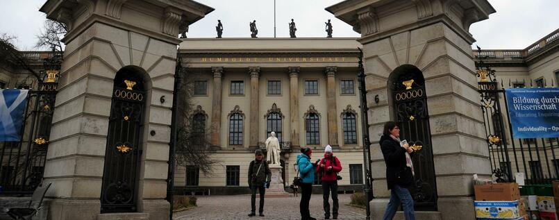 Die Humboldt-Universität in Berlin.