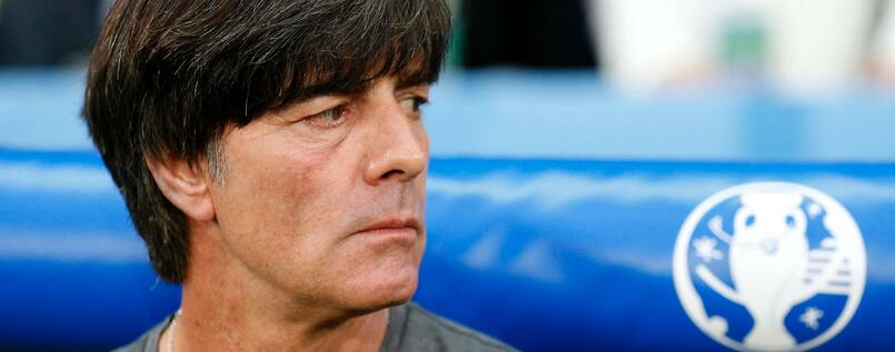 epa05360087 German coach Joachim Loew prior the UEFA EURO 2016 group C preliminary round match between Germany and Ukraine at Stade Pierre Mauroy in Lille Metropole, France, 12 June 2016. (RESTRICTIONS APPLY: For editorial news reporting purposes only. Not used for commercial or marketing purposes without prior written approval of UEFA. Images must appear as still images and must not emulate match action video footage. Photographs published in online publications (whether via the Internet or otherwise) shall have an interval of at least 20 seconds between the posting.) EPA/LAURENT DUBRULE EDITORIAL USE ONLY +++(c) dpa - Bildfunk+++