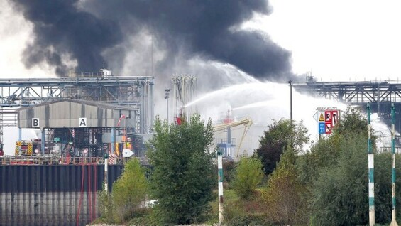 Explosion bei BASF in Ludwigshafen