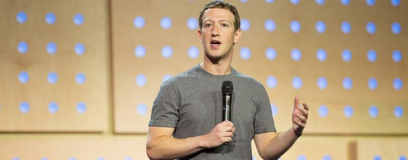 Milliardär im T-Shirt:Facebook-Chef Mark Zuckerberg.