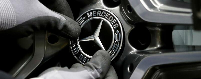 Mercedes-Produktion in Rastatt