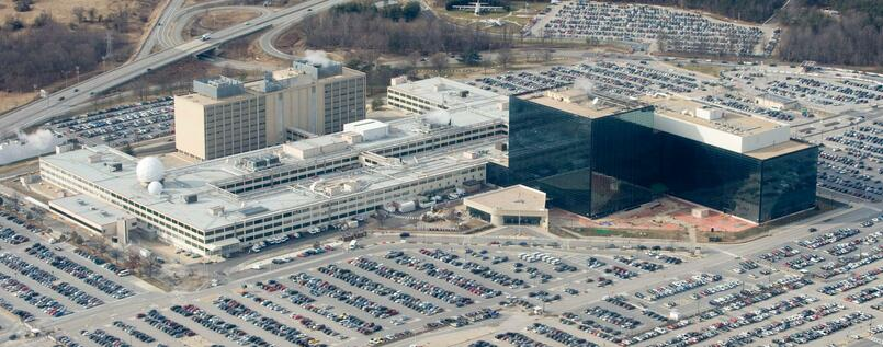 Das NSA-Hauptquartier in Fort Meade, Maryland.