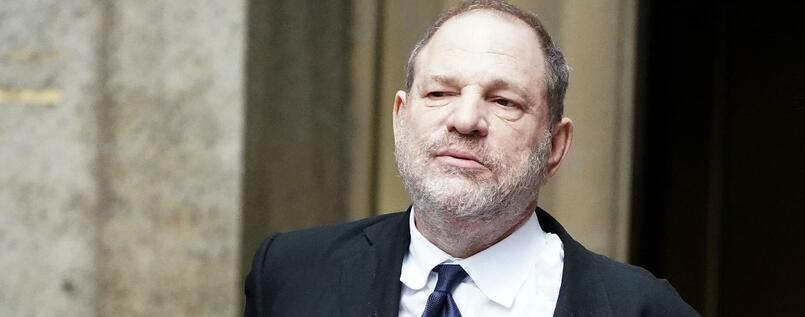 Harvey Weinstein nach einer Gerichtsanhörung in New York City