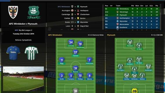 "Strategische Tiefe: der ""Football Manager Classic 2015""."