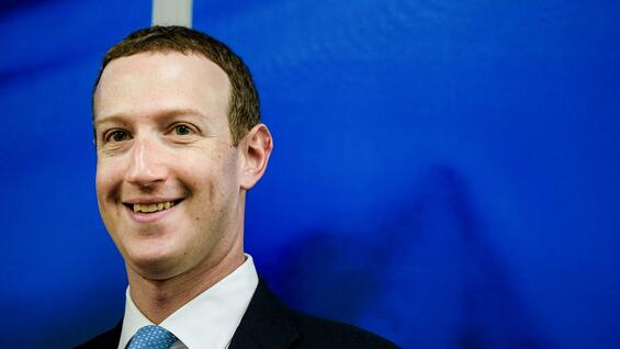 Facebook-Chef Mark Zuckerberg.
