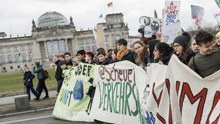 "Zehntausende bei Demo ""Fridays for Future"" in Berlin"